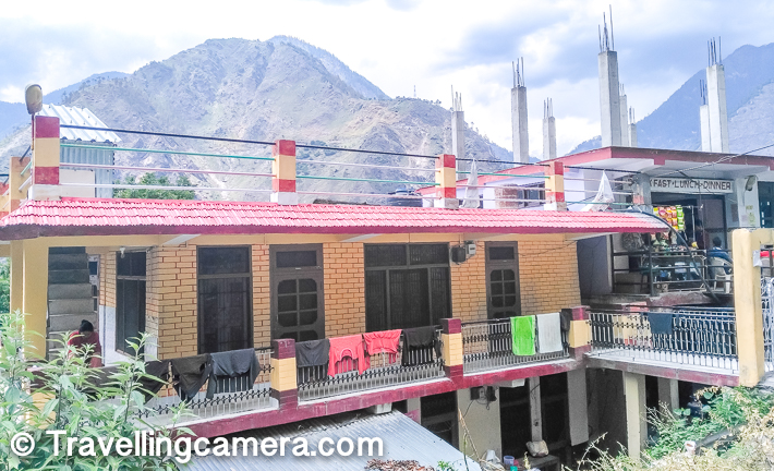 As you are moving towards Shimla-Kinnaur border and have crossed Jyori, keep an eye on left side of the road. There are 2/3 houses and 2 shops at road level. One of these is this place. If you are crossing the place during lunch time, the best way to recognize the place is by looking at lot of parked vehicles at an unusual place. If you are crossing the place in odd timings, you may still expect few vehicles parked around the mina road. While keeping an eye on this place, if you cross the border of Shimla district, probably you have missed the place. And if you desperately want to have a meal here, you may want to take a U-turn, take help from people on road-side and enjoy your meal.     If you have visited Basmati Dhaba in Badhal village near Jeori, please do share your experience through comments section below.     If you have missed our ongoing series on Spiti Trip, do check out -      How to reach Spiti Valley from Delhi and things to do around Kinnaur/Spiti in Himachal Pradesh  Road-Trip from Shimla to Nako through Kinnaur : Spiti Diaries (1)  Morning walk around Nako Lake and the village in Kinnaur, Himachal Pradesh  Road-trip from Nako to Kaza via Gue Monastery, Himachal Pradesh  500 years old Mummy of Sangha Tenzin with teeth & hair at Gue Monastery   Road Journey through Kaza, Key Monastery, Kibber, Langza, Koumik & Dhankhar in Spiti Valley   Dhankar to Kalpa - Back journey from Spiti to Kinnaur region of Himachal Pradesh  Kalpa to Shimla - Last leg of our road trip to Spiti & KInnaur in Himachal Pradesh  If you liked this post and found it helpful, I would request you to follow these things when traveling -   1. Manage your waste well and don't litter Use dustbins.  2. Tell us if you went to a place and found it hard to locate a dustbin.   3. Avoid bottle waters in hills. Usually you get clean water in hills and water bottles create lot of mess in our ecosystem.   4. Say big no to plastic and avoid those unhealthy snacks packed in plastic bags. Rather buy 