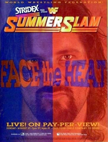 WWF / WWE - Summerslam 1995 - Event poster