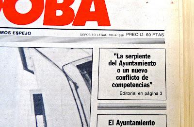 EPÍLOGO SERPIENTE DE LOS PATOS DE 1986