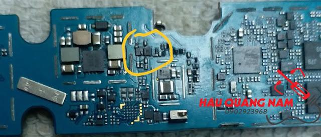 Chia sẻ samsung A605 vào nước mất hiển thị & liệt cảm ứng ok