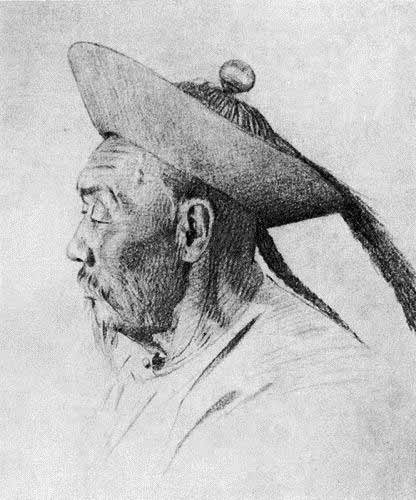 Василий Васильевич Верещагин - Китайский чиновник племени сибо. 1870