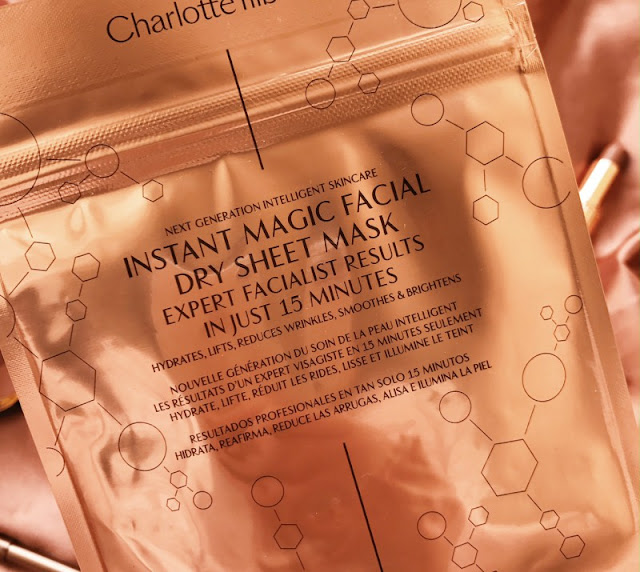 Charlotte Tilbury Revolutionary Instant Magic Facial Dry Sheet Mask Review