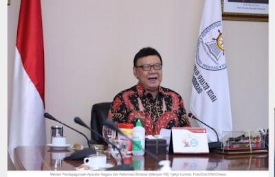 Menpan RB Tjahjo Kumolo: Seleksi 1 Juta Guru PPPK Dilakukan Tiga Kali Selama 2021
