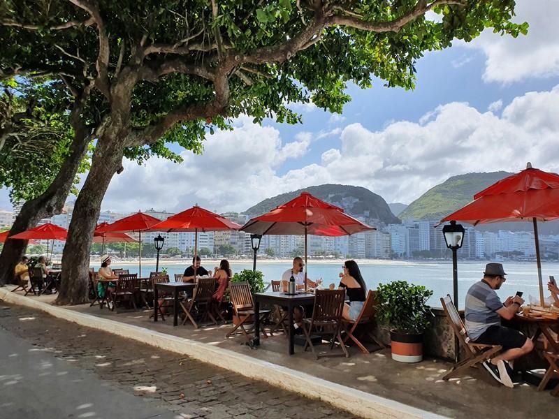 cafeterias do Forte de Copacabana