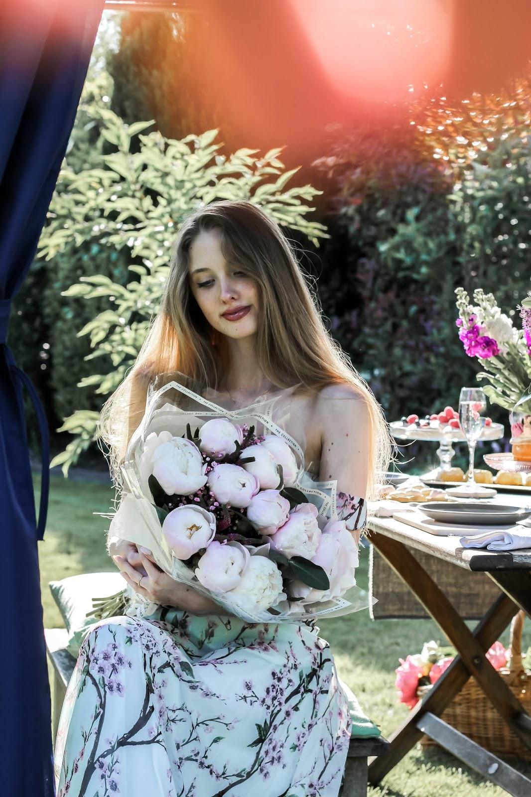 M&S Peonies Online Bouquet