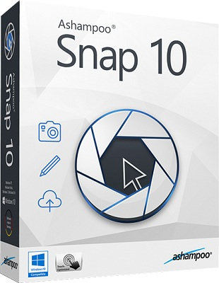 Ashampoo Snap 10.0.3 poster box cover