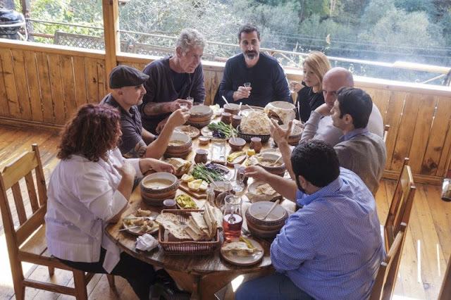 Bourdain activista del reconocimiento del genocidio armenio