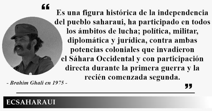 Brahim Ghali el líder saharaui que incomoda tanto a España como Marruecos.