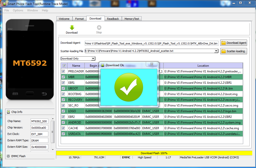 Sp Flash Tool Mt6572 Android - softmorearts