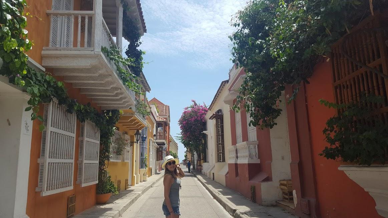 Calle Cochera del Hobo na Cidade Amuralhada - Cartagena