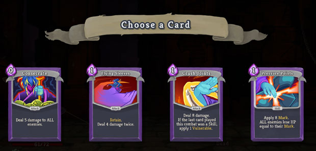 STS Watcher Card Choices