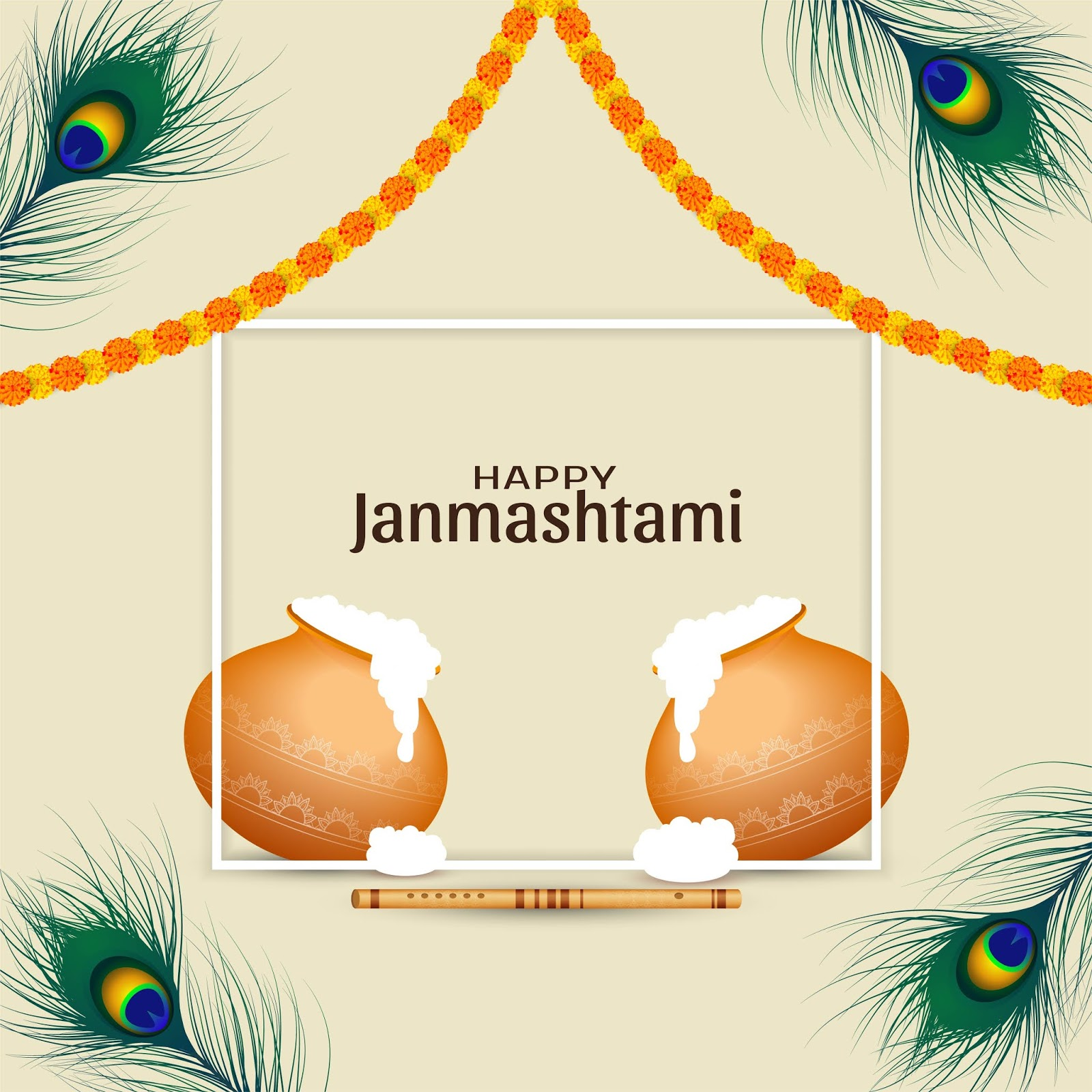 Happy Janmastmi HD Image