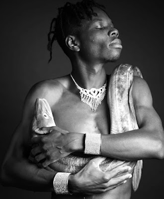 Anthony Badu by photographer Ajamu X