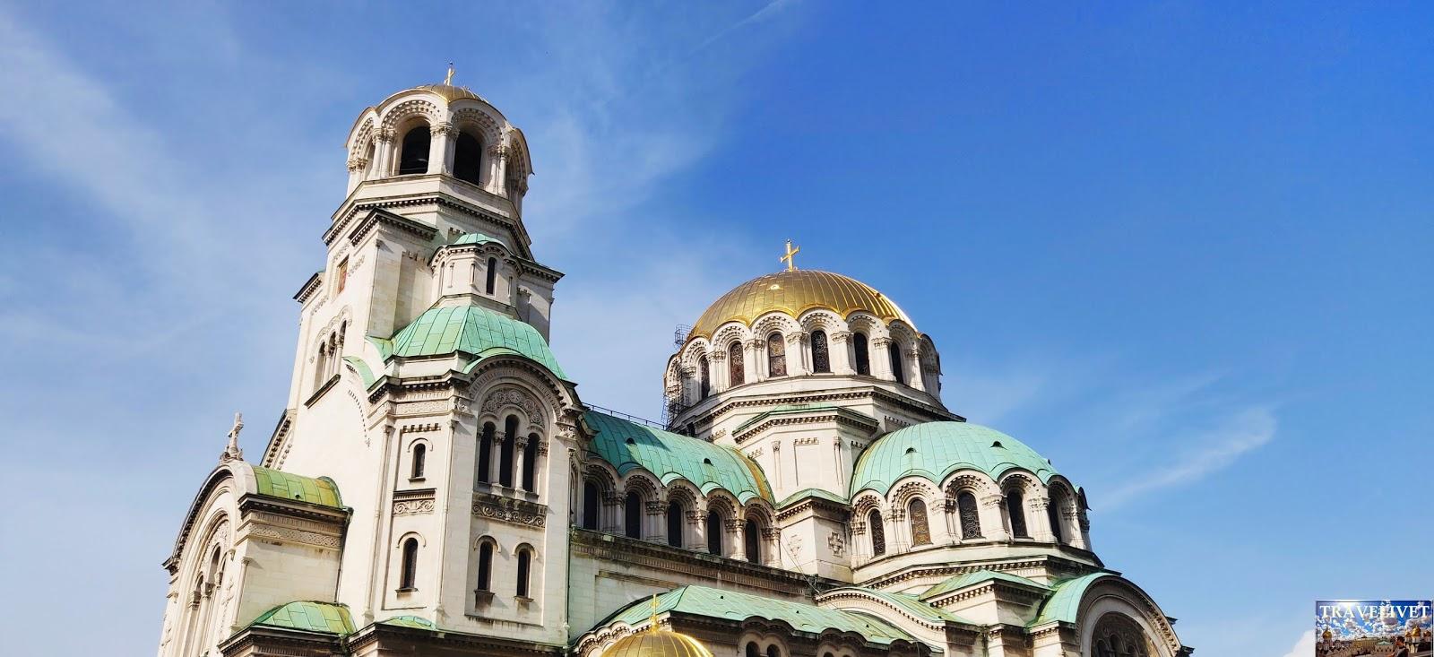 Bulgarie Sofia cathédrale Saint Aleksandar Nevski