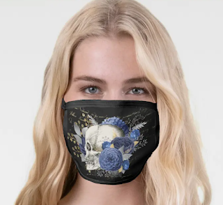 halloween party facemask