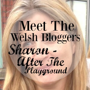 meet the Welsh bloggers with Sharon from After The Playground - weekly blog series introducing all kinds of Welsh bloggers
