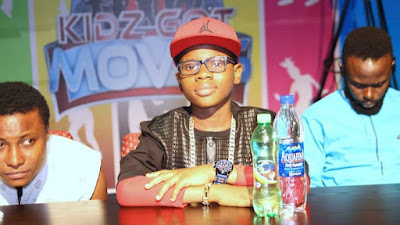 Photos: OzzyBee Appointed as Judge at the Kidz got Moves