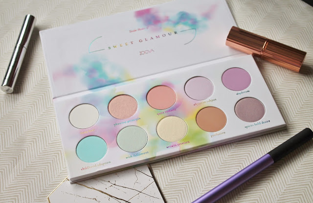 Zoeva Sweet Glamour Palette Review and Swatches