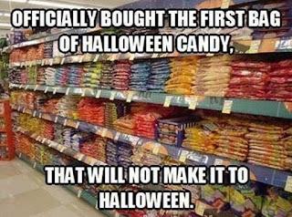 halloween candy meme