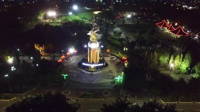 Monumen Jayandaru, Ikon Kota Sidoarjo Yang Cocok Dipilih Untuk Hunting Foto