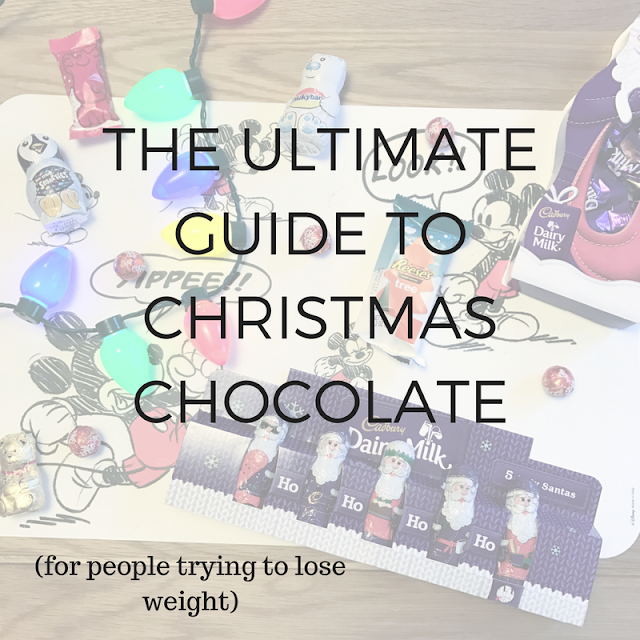 The Ultimate Guide of Christmas Chocolate (for people trying to lose weight)