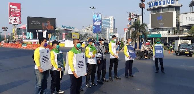 Gerakan & Aksi #JalanHijau bersama Kemenhub dan BPTJ