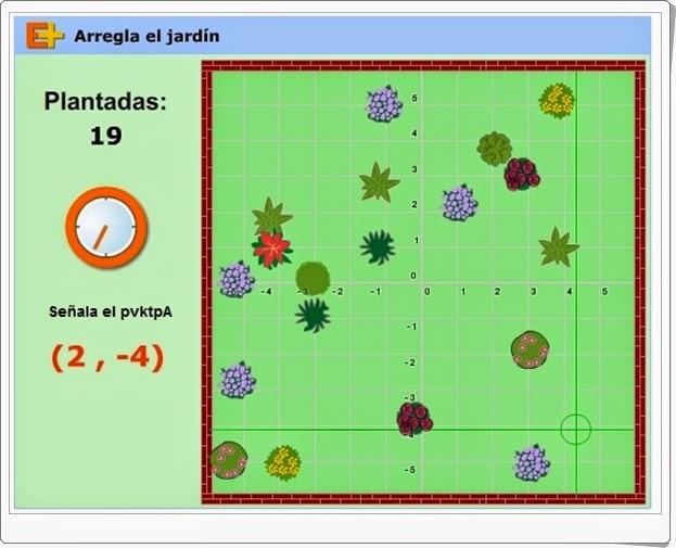 Juegos educativos online gratis arregla el jardn coordenadas haz click en la imagen urtaz Choice Image