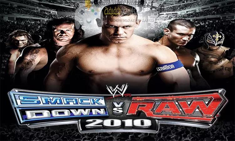تحميل لعبة WWE Smackdown Raw 2010 برابط مباشر