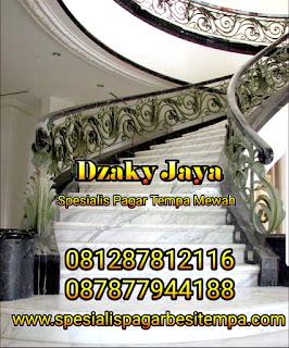 model railing tangga besi tempa, railing tangga klasik, railing tangga besi ulir (1)