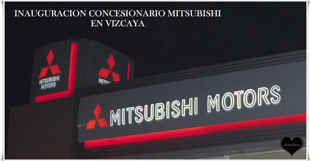 Inauguración del Concesionario de Mitsubishi en Vizcaya