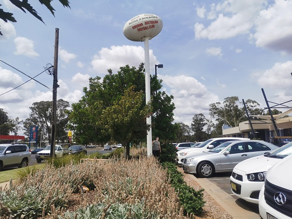 BIG Football in Wagga Wagga   Wagga Wagga Public Art