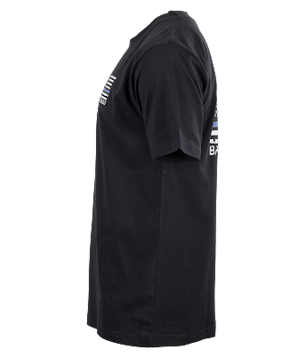 Pudala Uniforms Back the Blue Short-Sleeve T-Shirt