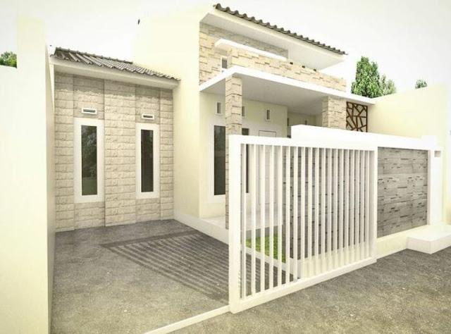 pagar rumah sederhana