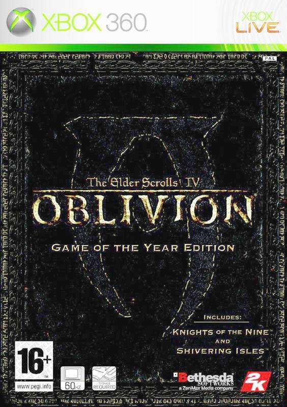 The Elder Scrolls 4 Oblivion GOTY Edition [Jtag/RGH
