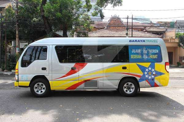 Cek dan Booking Tiket Travel Baraya Hanya di Traveloka