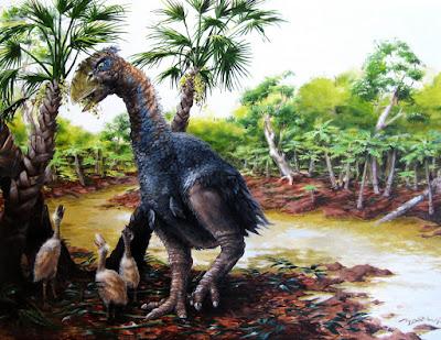 Giant flightless bird wandered the Arctic 50 million years ago