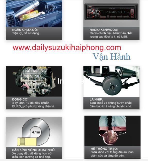 nội thất Suzuki blind van Hai Phong