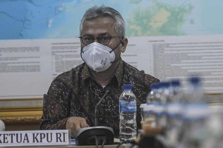 Usai KPU Izinkan Kampanye di Tengah Pandemi, Kini Ketuanya Positif Corona