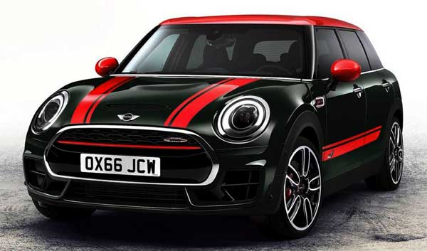 2017 New Mini Cooper Clubman Dropping to Paris Auto Show