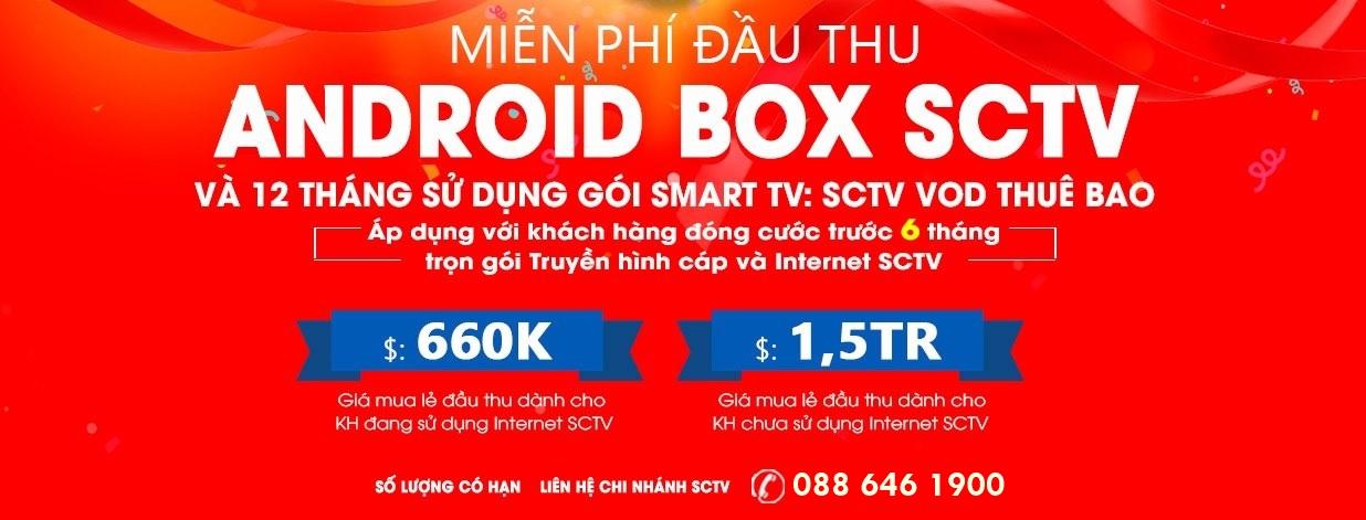 Giá bán Android BOX SCTV