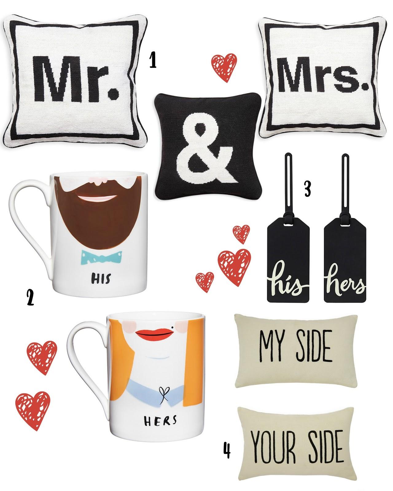 14 Last-minute Modern Wedding Gift Ideas For Mr. & Mrs