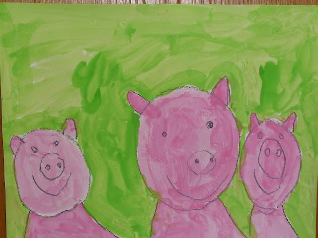 Basteln Schwein