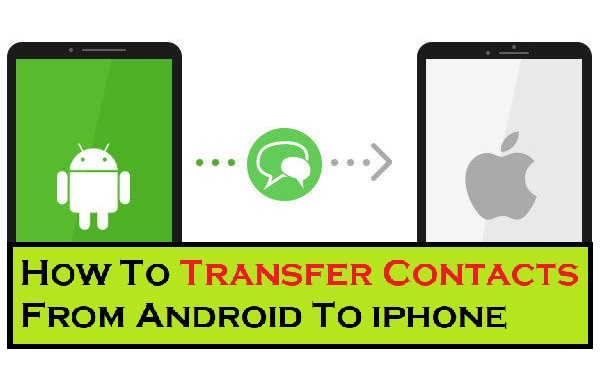 How To Transfer Contacts From Android To iphone - 2021