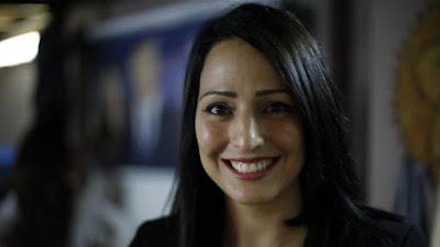 Drusa Gadeer Kamal Mreeh é a estrela da Aliança Azul e Branco