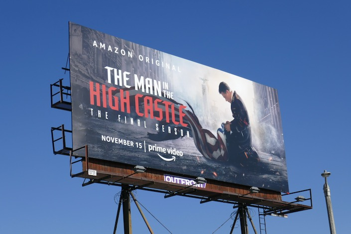 Man High Castle final season billboard