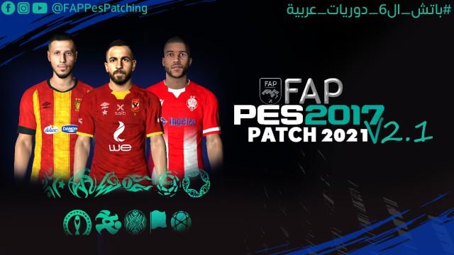 FAP PES 2017 Patch Update V2.1
