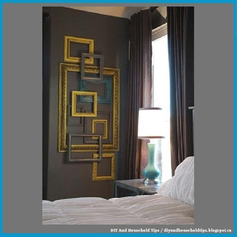 diy and household tips turn empty picture frames into. Black Bedroom Furniture Sets. Home Design Ideas