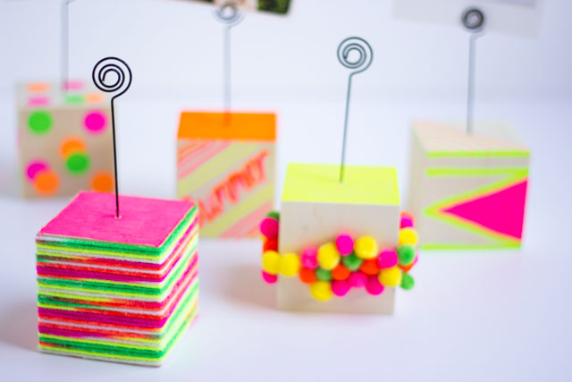 Make DIY photo holders to show off your favorite Instagram snapshots this summer!