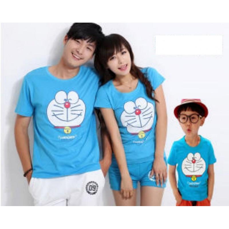 Jual Online FM Blue Doraemon Murah Jakarta Bahan Combed Terbaru