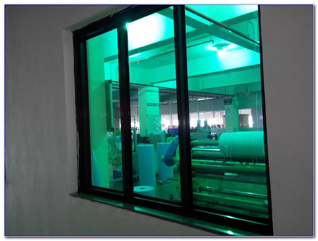 Green TINTED Glass WINDOWS Pictures